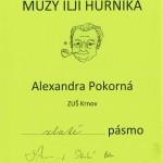 Alexandra Pokorná - Zlaté pásmo