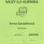 Anna Sovadinová - Zlaté pásmo