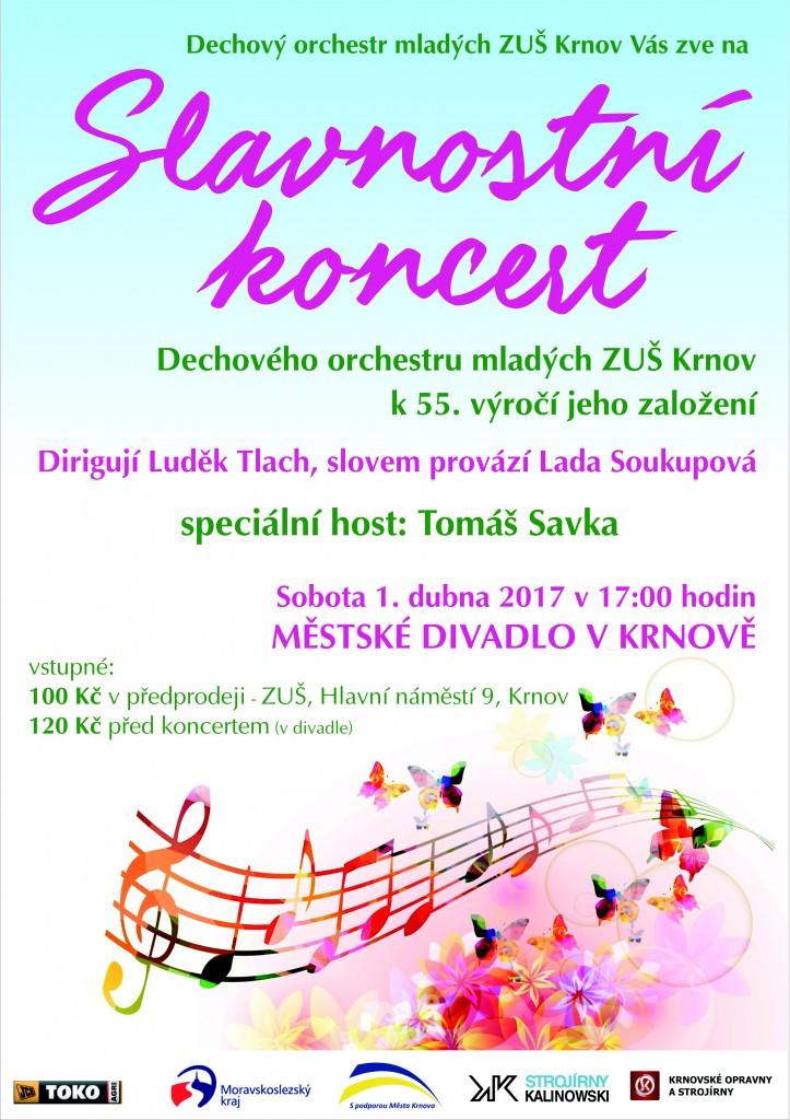 DOM Krnov - Slavností koncert k 55. výročí založení