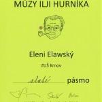 Eleni Elawský - Zlaté pásmo