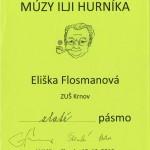 Eliška Flosmanová - Zlaté pásmo
