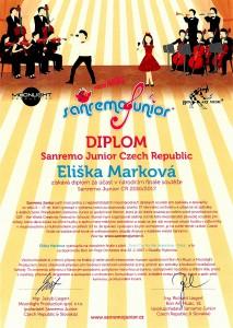 Eliška Marková - diplom