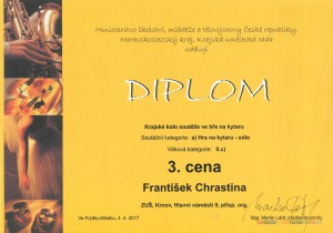 František Chrastina - 3.místo