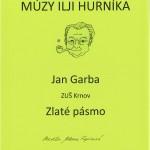 Jan Garba - Zlaté pásmo