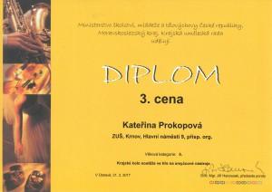 Kateřina Prokopová - 3.místo