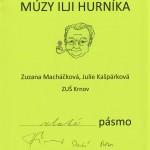 Zuzana Macháčková a Julie Kašpárková - Zlaté pásmo
