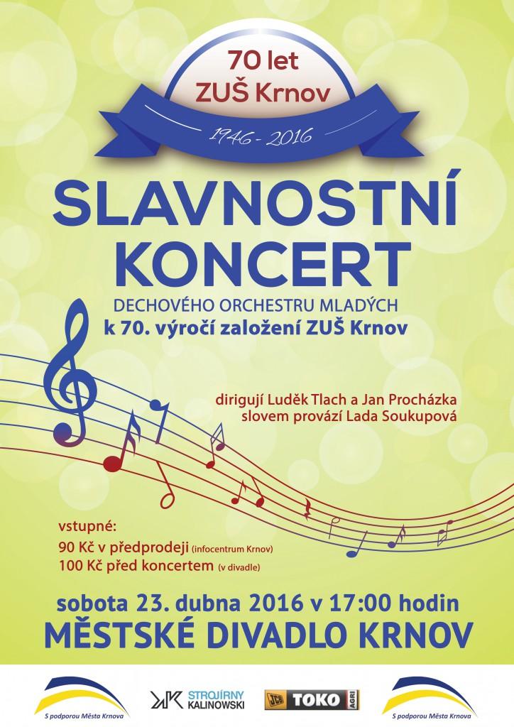 Slavnostní koncert ZUŠ Krnov