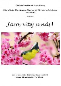 Jaro, vítej u nás