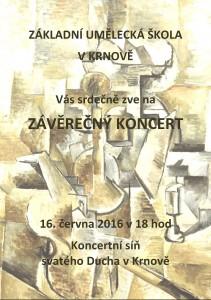 Závěrečný koncert ZUŠ Krnov