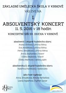 Absolventský koncert I