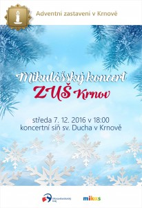Mikulášský koncert 2016