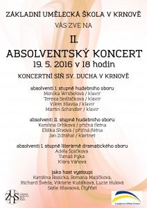 Absolventský koncert II.