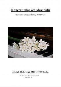 Koncert mladých klavíristů