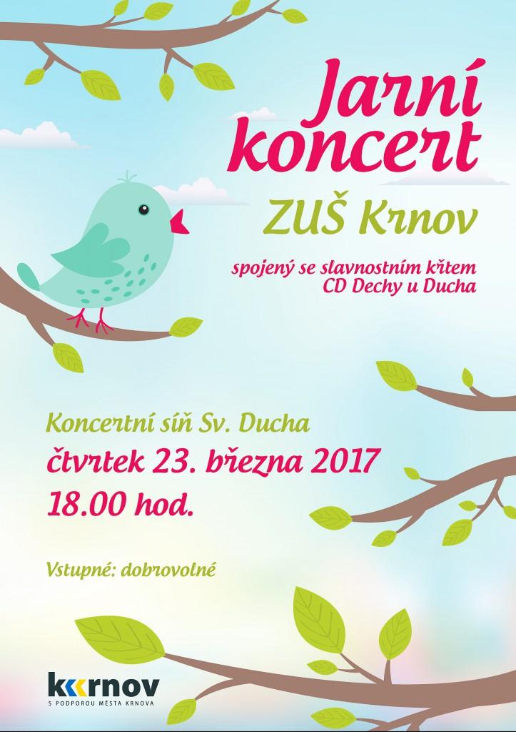 Jarní koncert ZUŠ Krnov