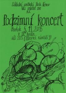 Podzimní koncert ZUŠ Krnov