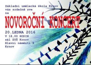 Novoroční koncert ZUŠ Krnov