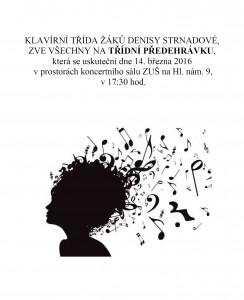 Třídní koncert